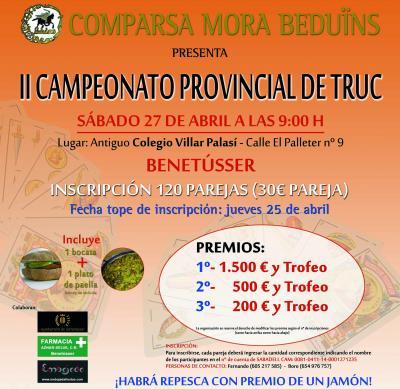 2 campeonato provincial de truc